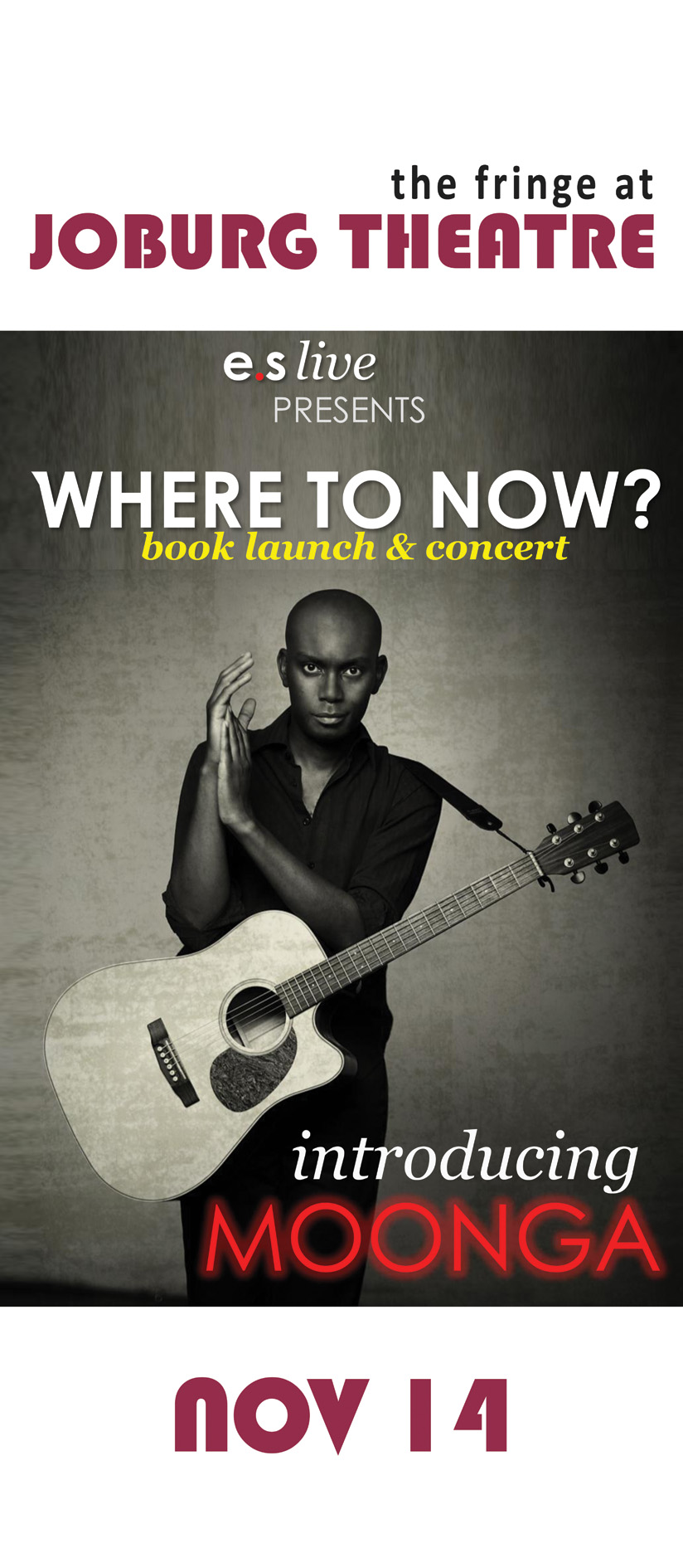 Where to Now: Book Launch & Concert, 14 November 2013
